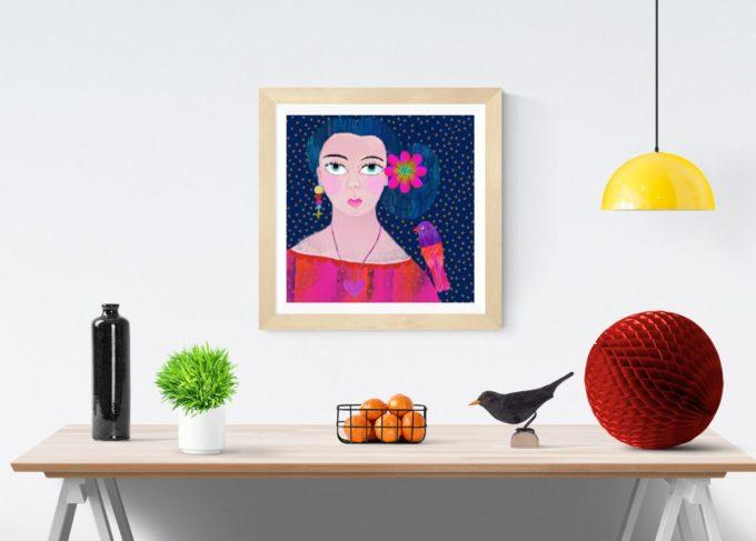 Cool Lady Print
